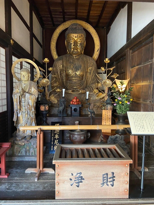 龍潭寺の仏像