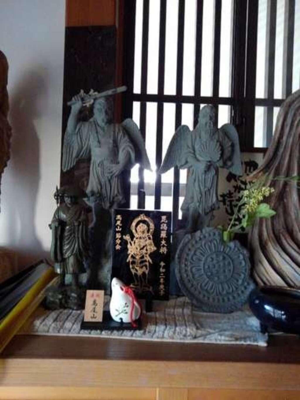 天龍寺の像