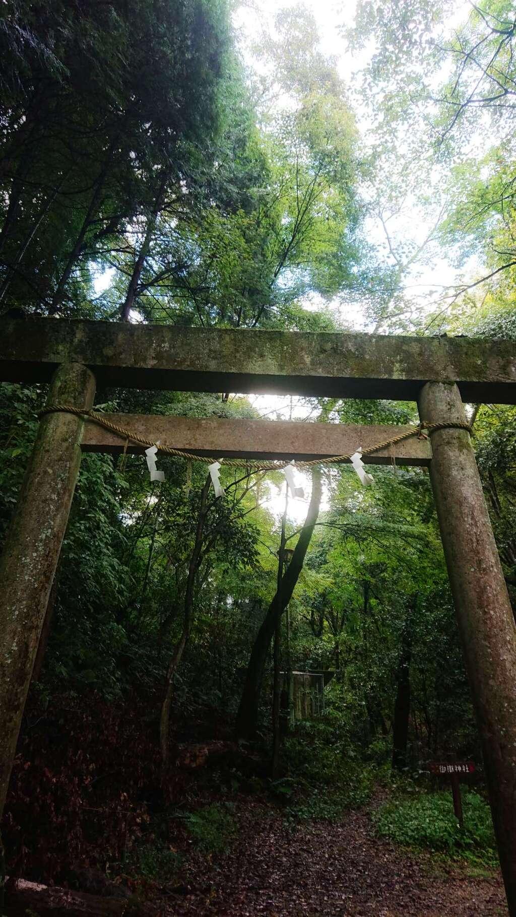 玉野御嶽神社の鳥居