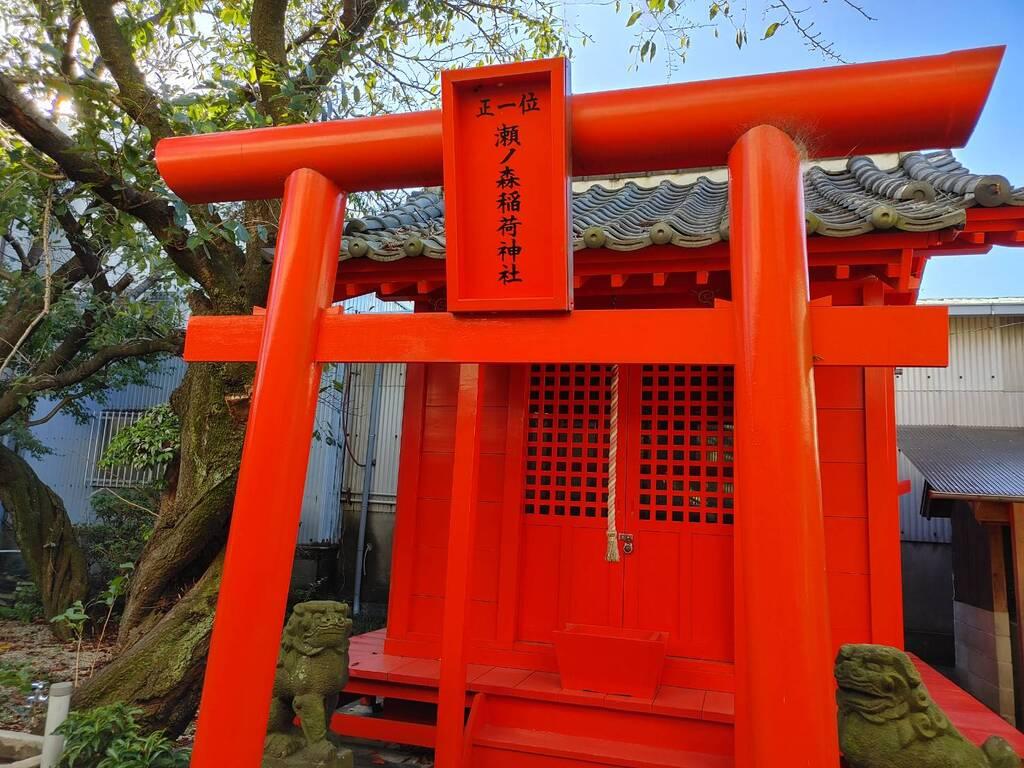 瀬ノ森稲荷神社の建物その他