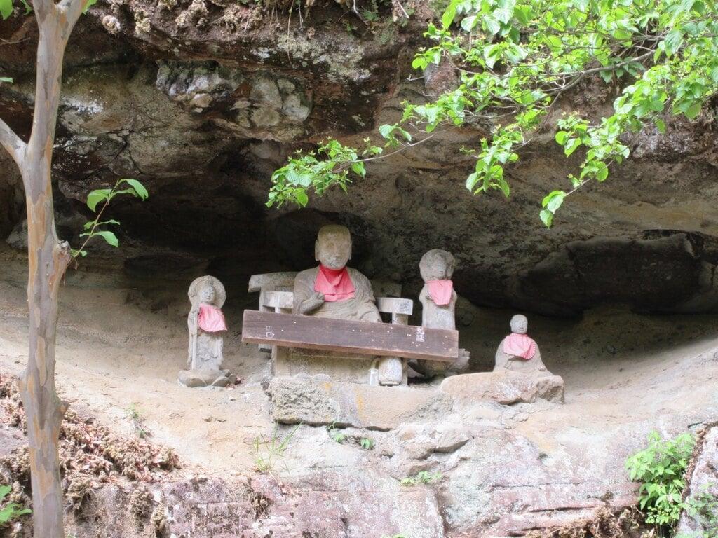 鷲窟山観音院の地蔵
