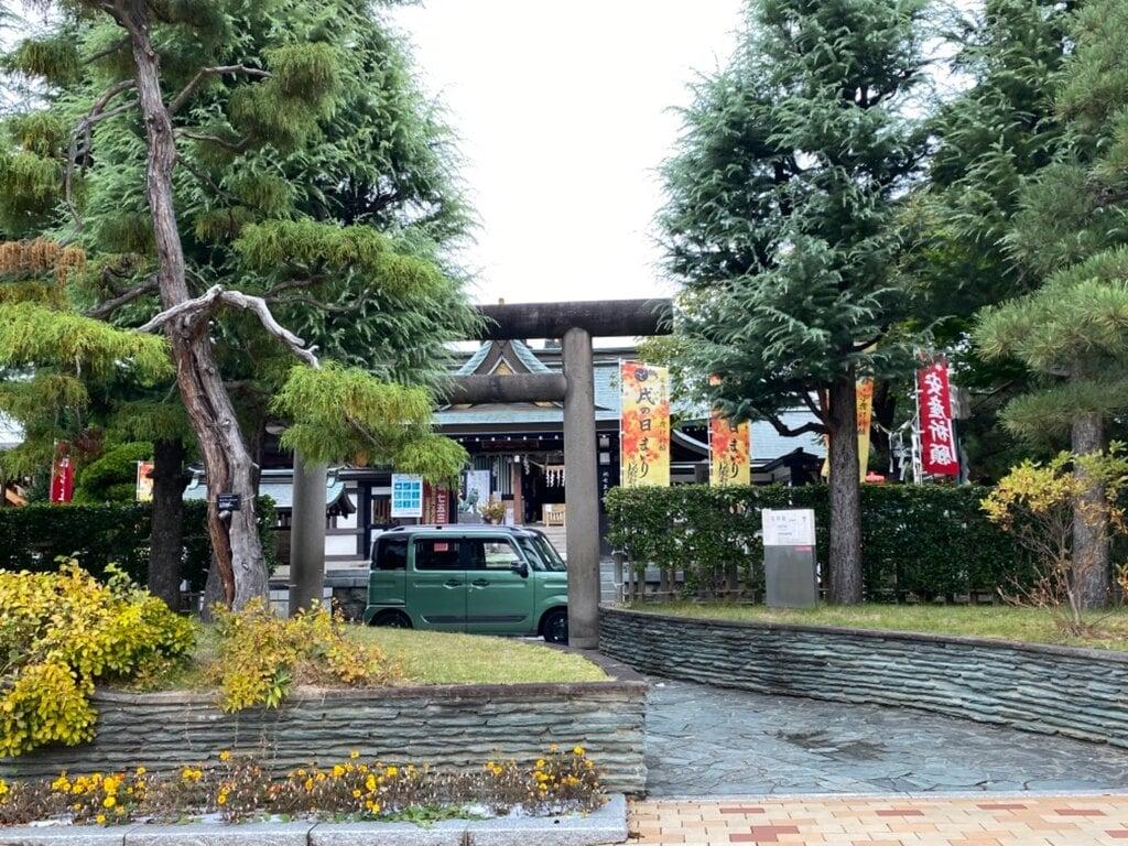 里之宮 湯殿山神社の鳥居