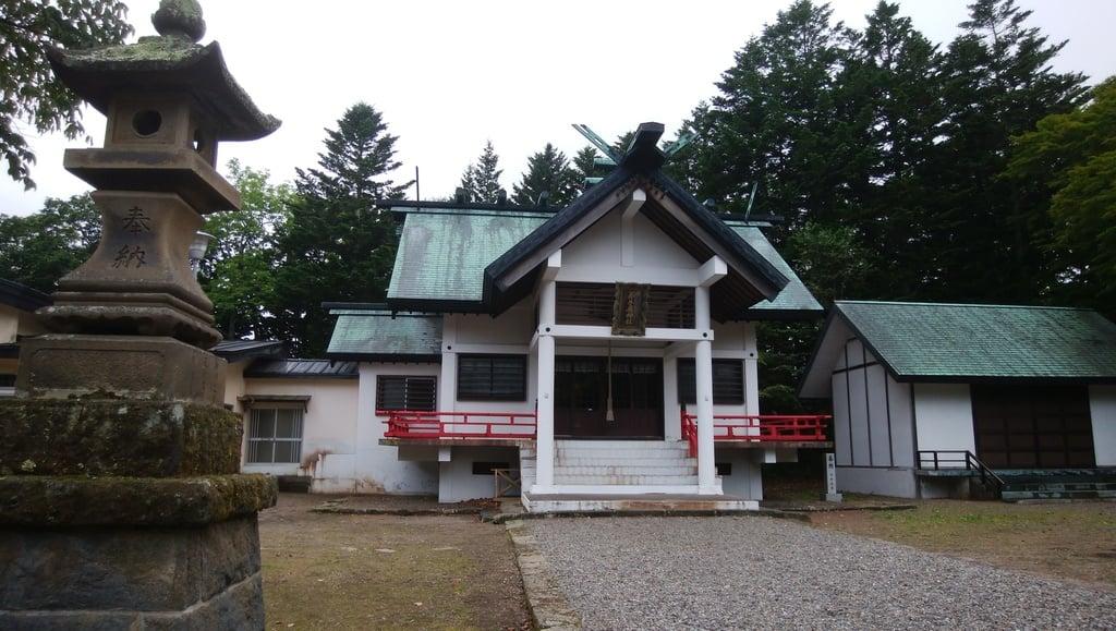 弟子屈神社の本殿