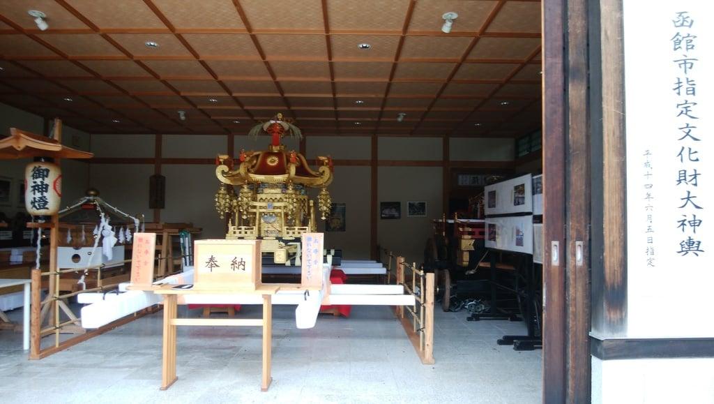 函館八幡宮の本殿