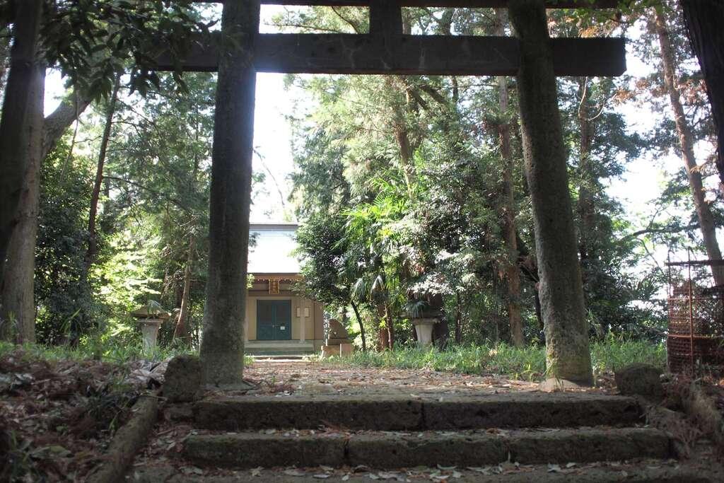 蒲生神社の鳥居