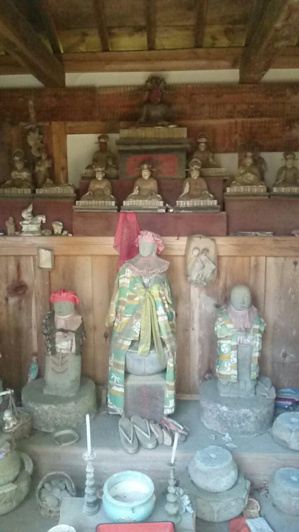 常堅寺の地蔵