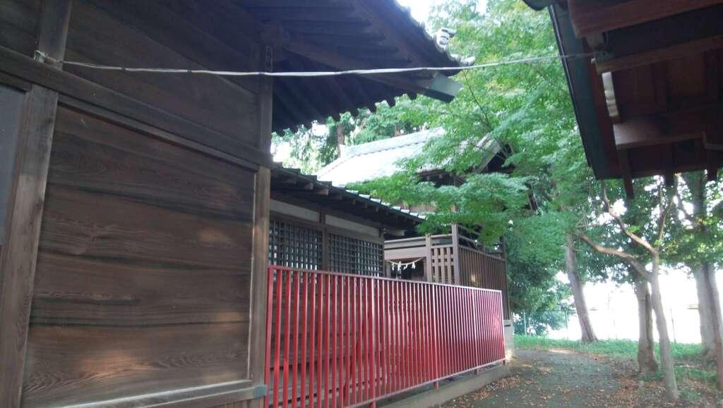 仙波氷川神社の本殿