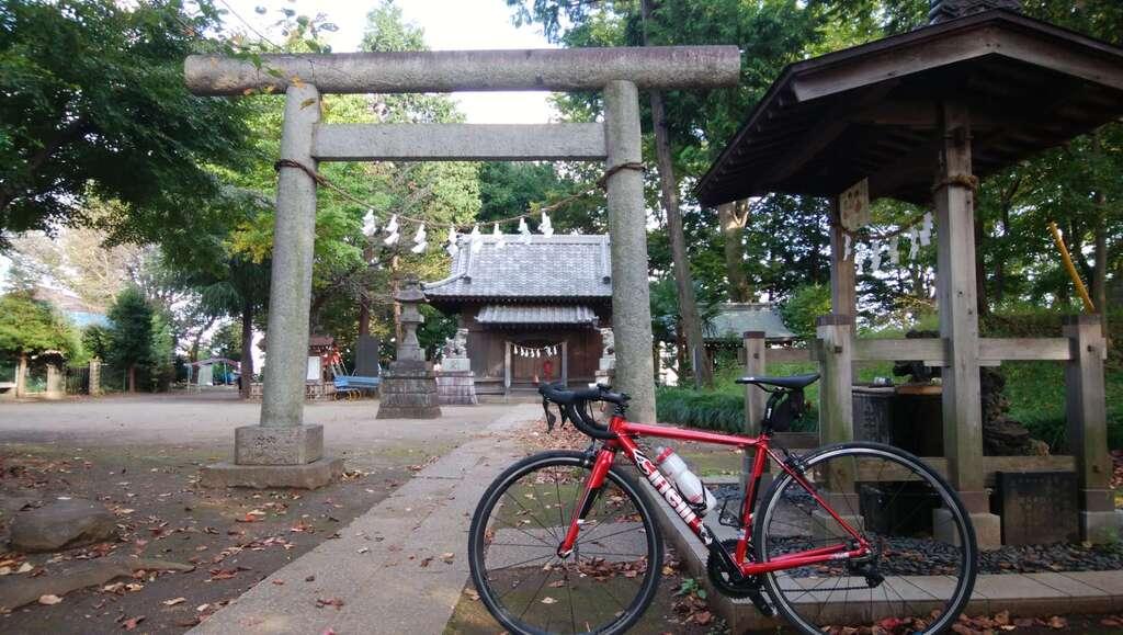 仙波氷川神社の鳥居