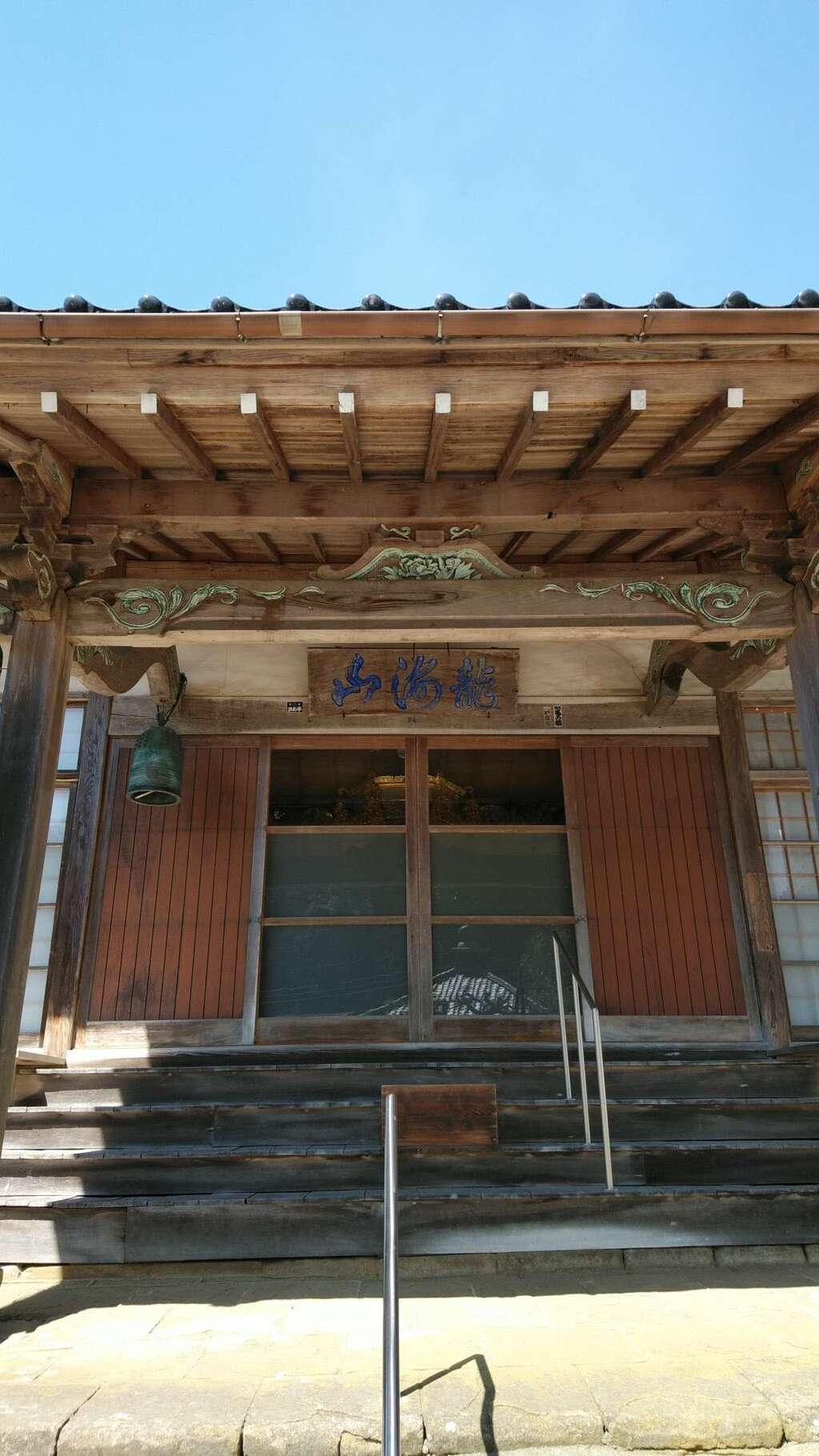 仏谷寺の本殿