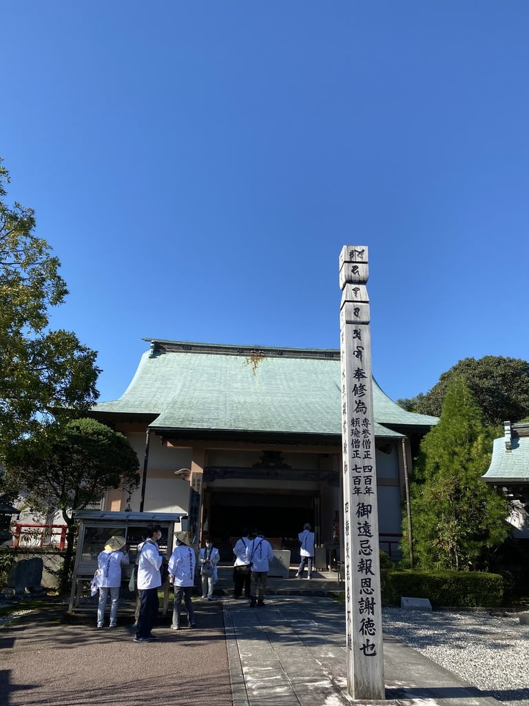 種間寺の本殿
