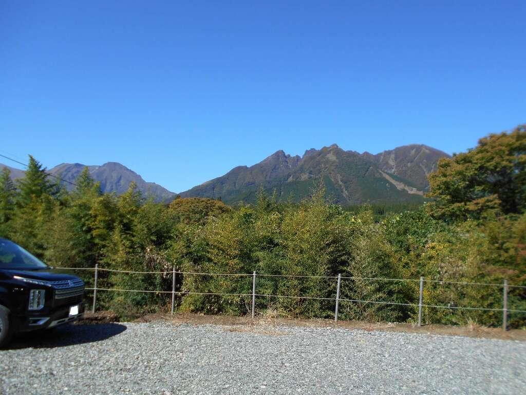 上色見熊野座神社の景色