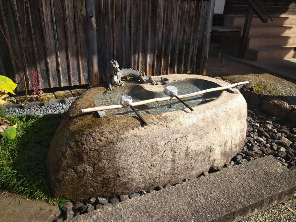 瀧泉寺の手水