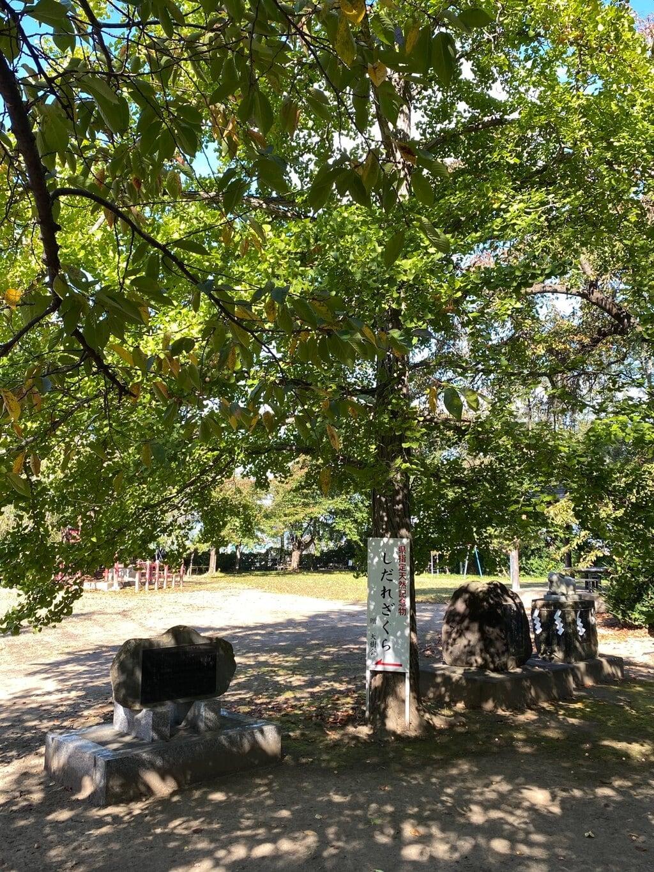 弘前天満宮の庭園