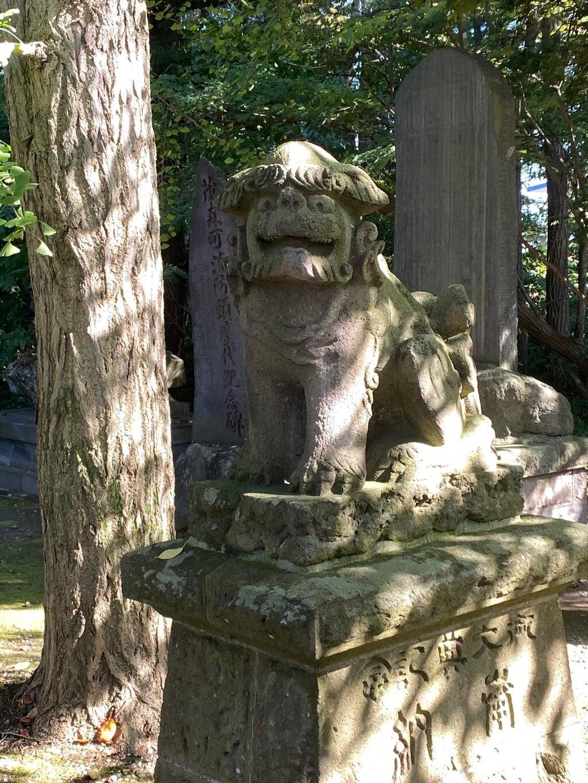 弘前天満宮の狛犬