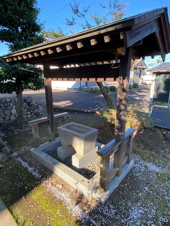 羽黒神社の手水