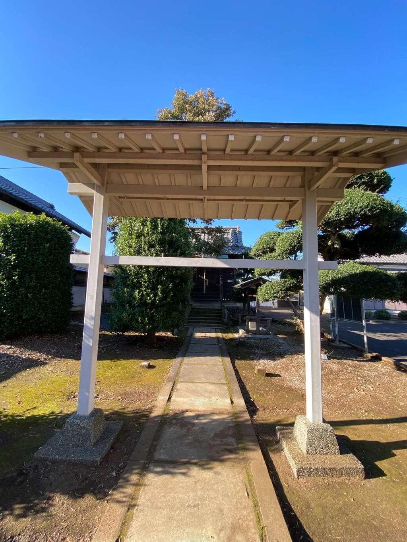 羽黒神社の山門