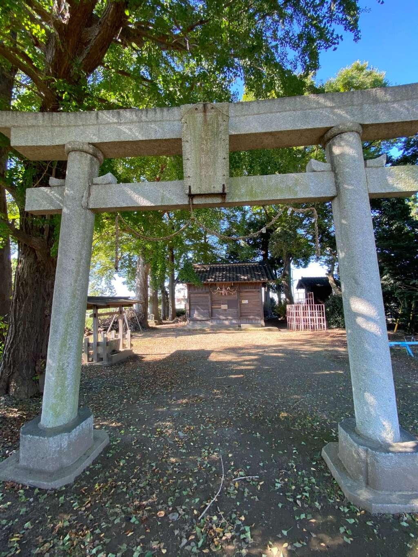 亀井神社の鳥居