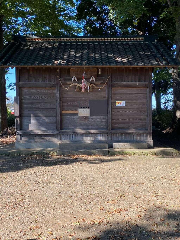 亀井神社の本殿
