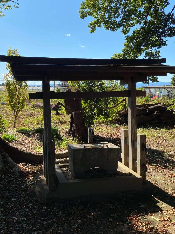 亀井神社の手水