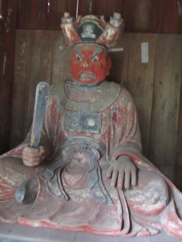 笠森寺の像