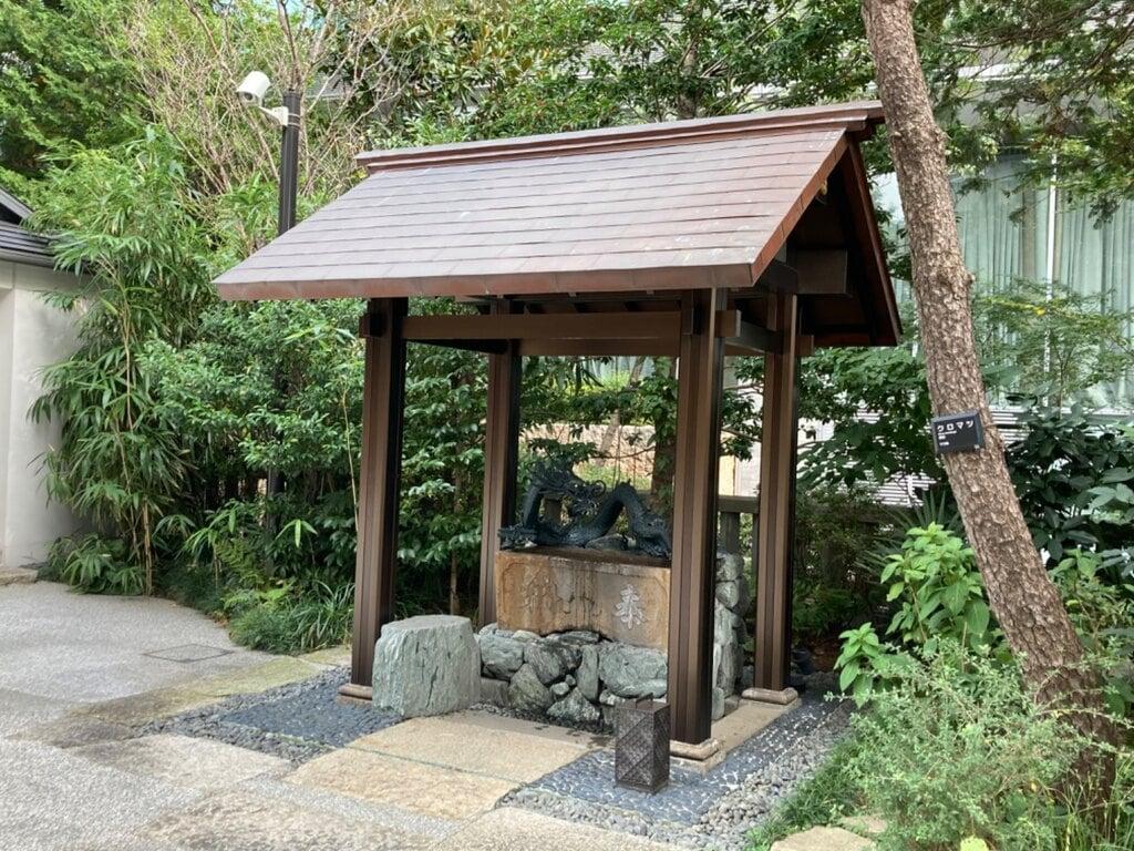 六本木天祖神社の手水