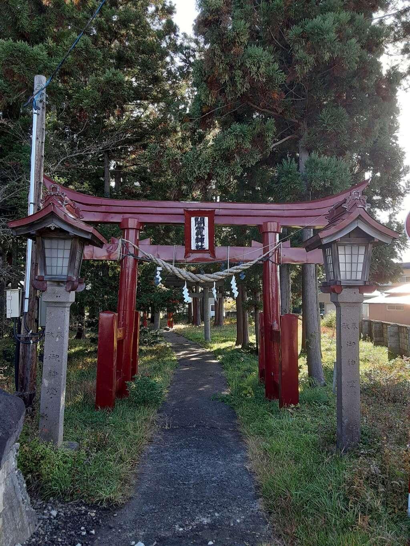 闇神社の鳥居