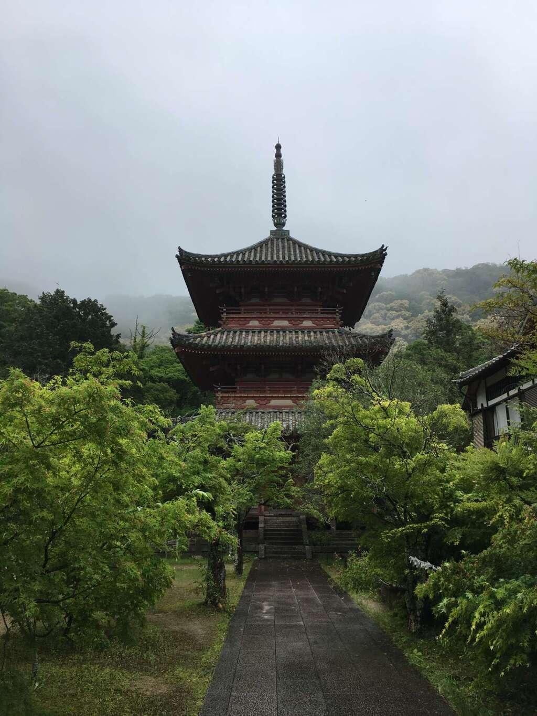 太山寺の塔