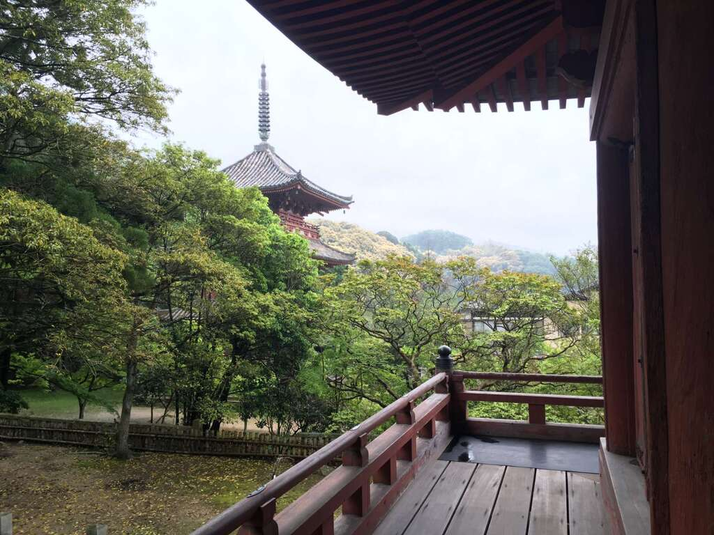 太山寺の景色