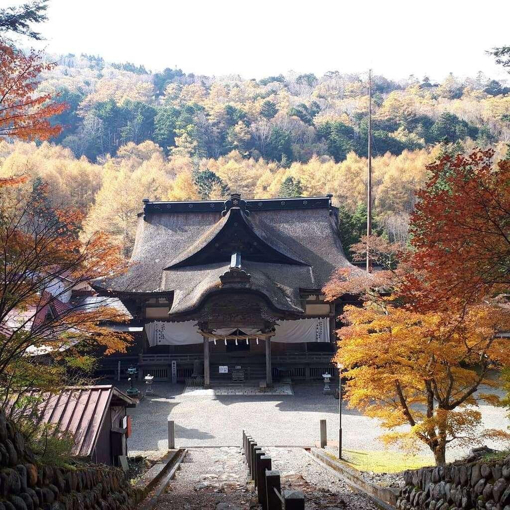 蓮久寺の本殿