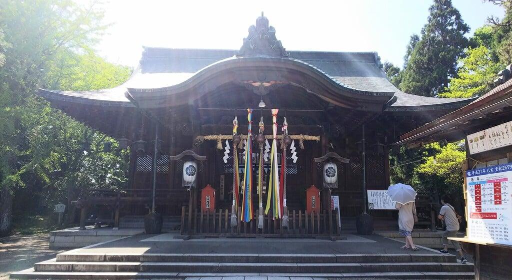 総社大神宮の本殿