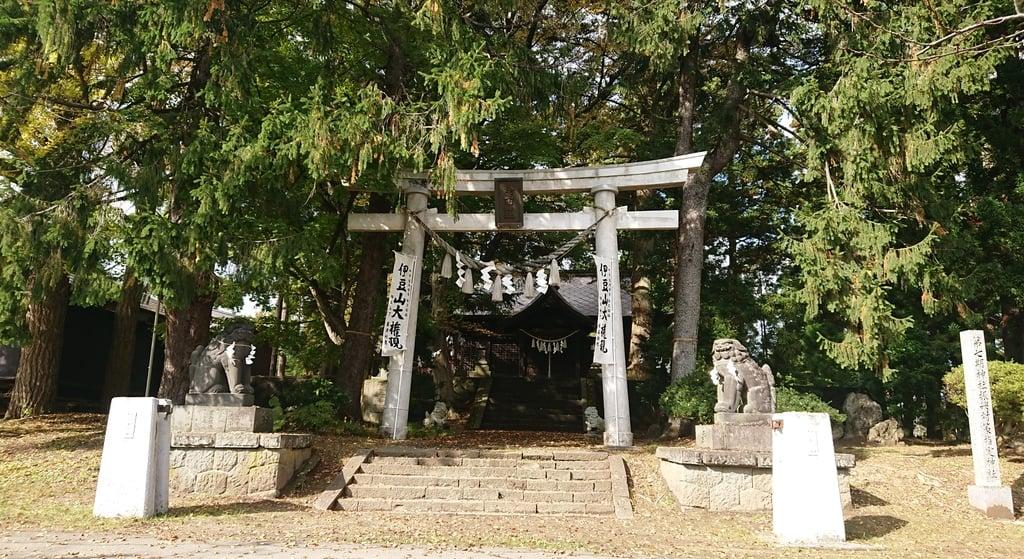 伊豆山神社 里宮の鳥居