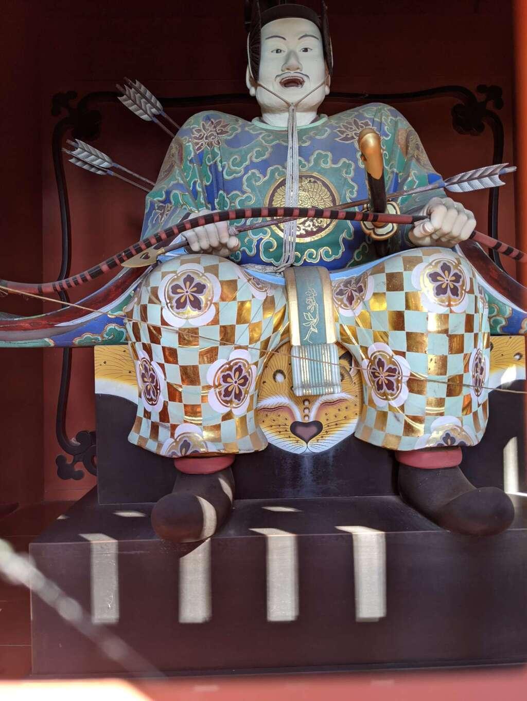久能山東照宮の像