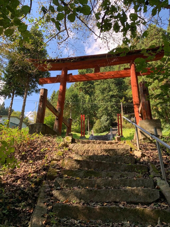 戸隠神社の鳥居
