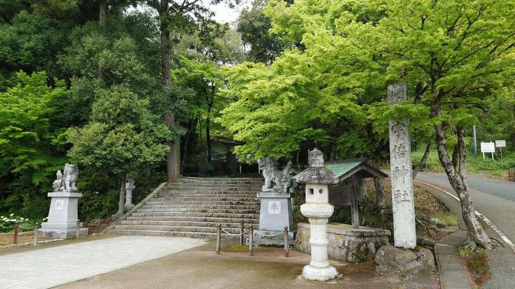 宇倍神社の狛犬