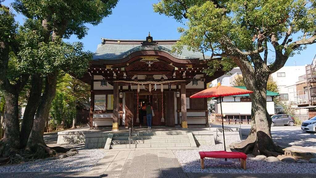 橘樹神社の本殿
