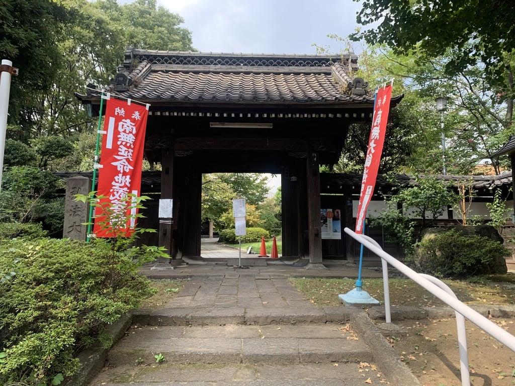 来福寺の山門