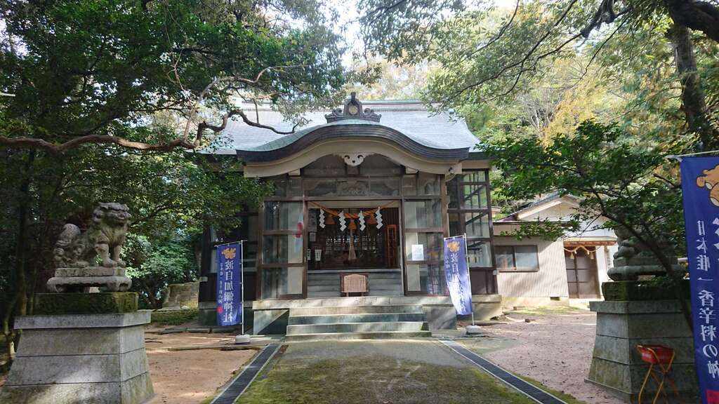 日本唯一香辛料の神 波自加彌神社の本殿