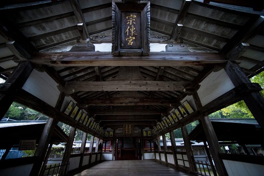 宗像大社の本殿