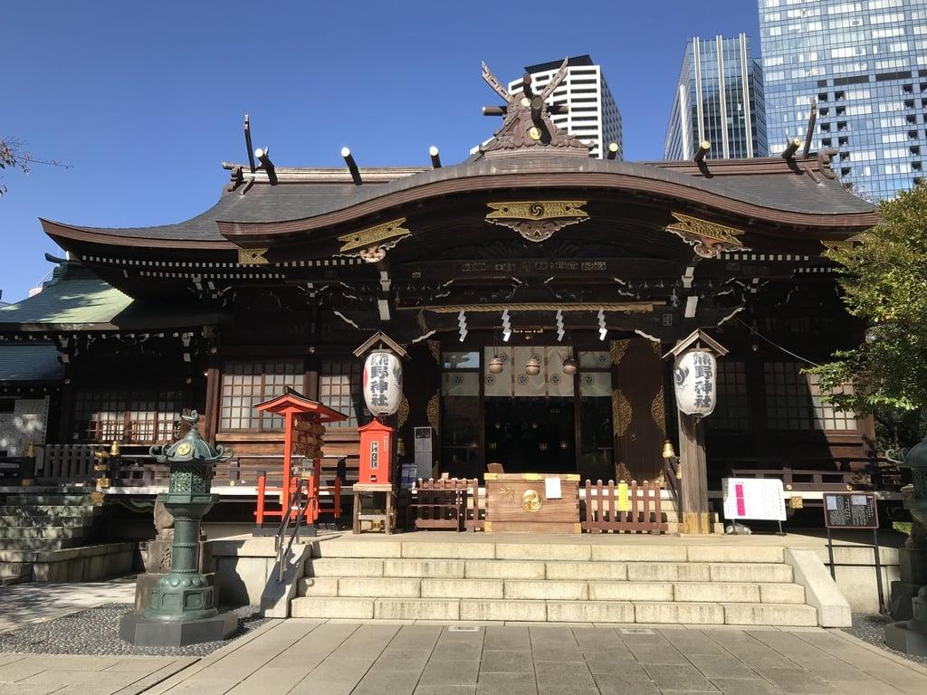 熊野神社の本殿