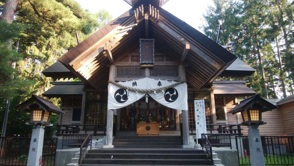大谷地神社の本殿