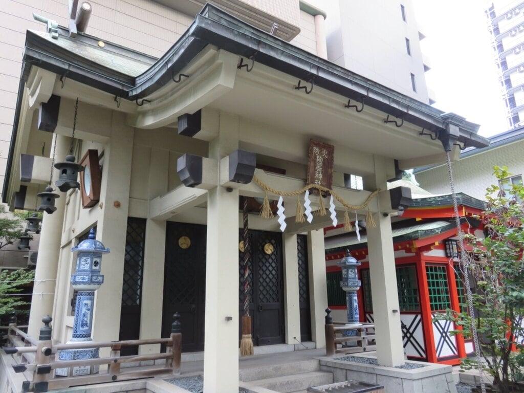 火防陶器神社(坐摩神社末社)の本殿