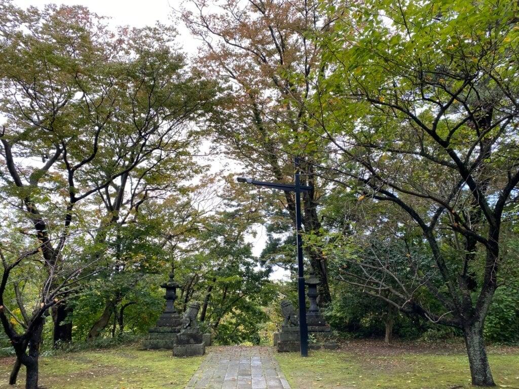 古四王神社の周辺