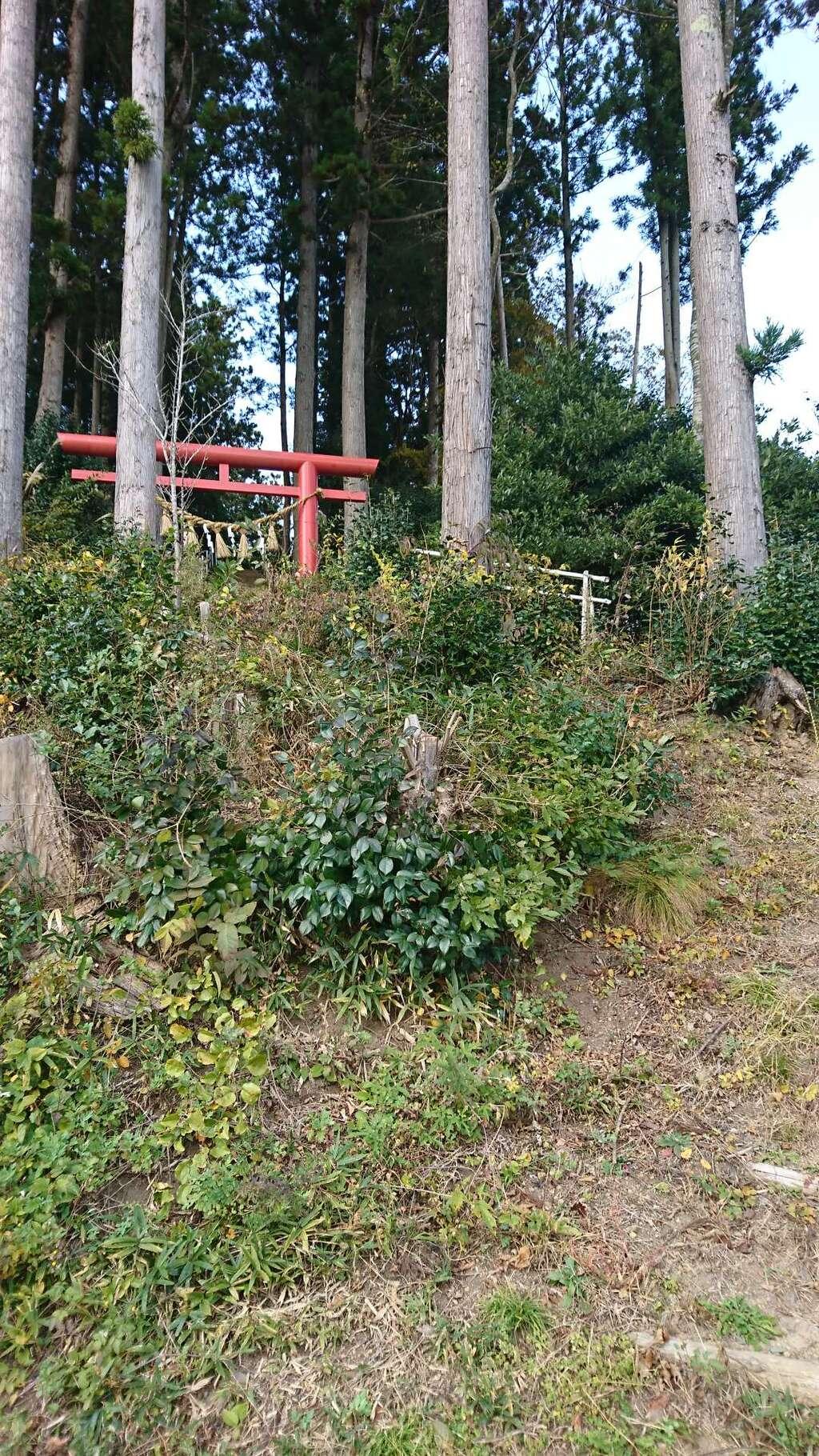 五十鈴神社の周辺