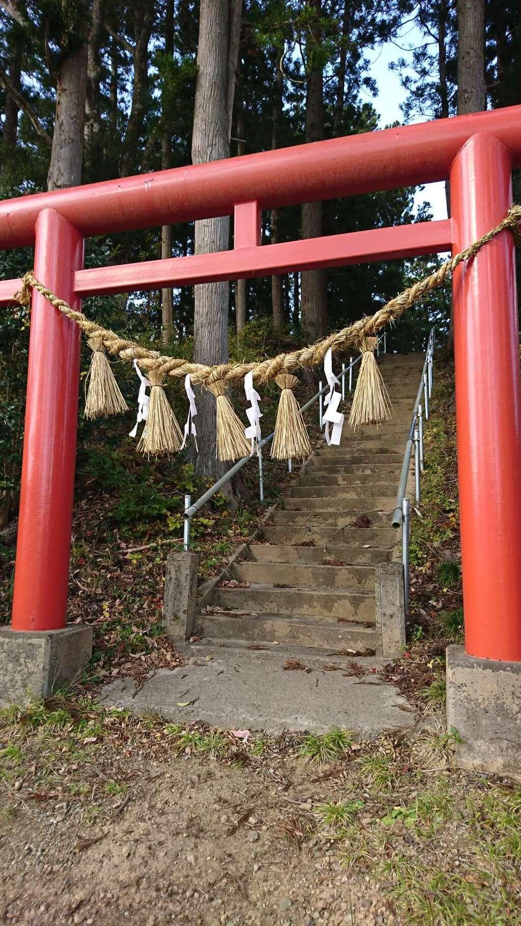 五十鈴神社の鳥居
