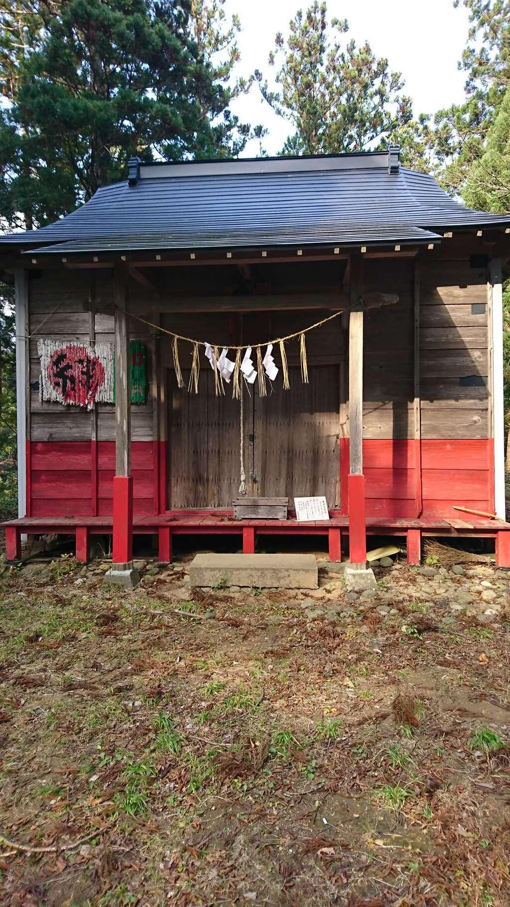 五十鈴神社の本殿