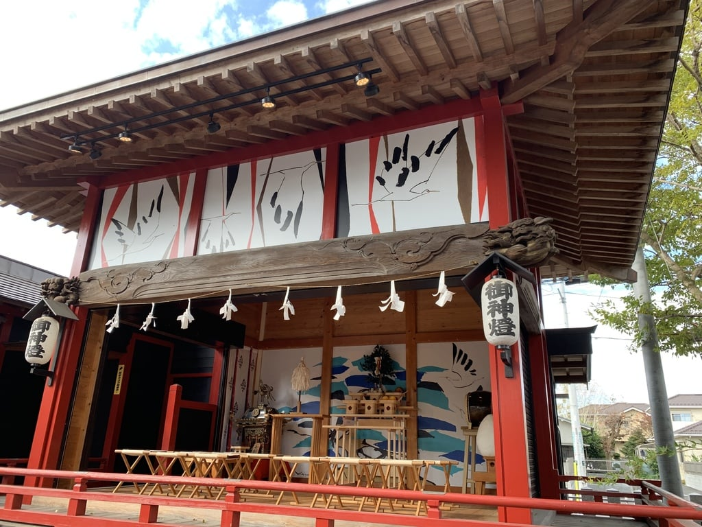 鴻神社の神楽