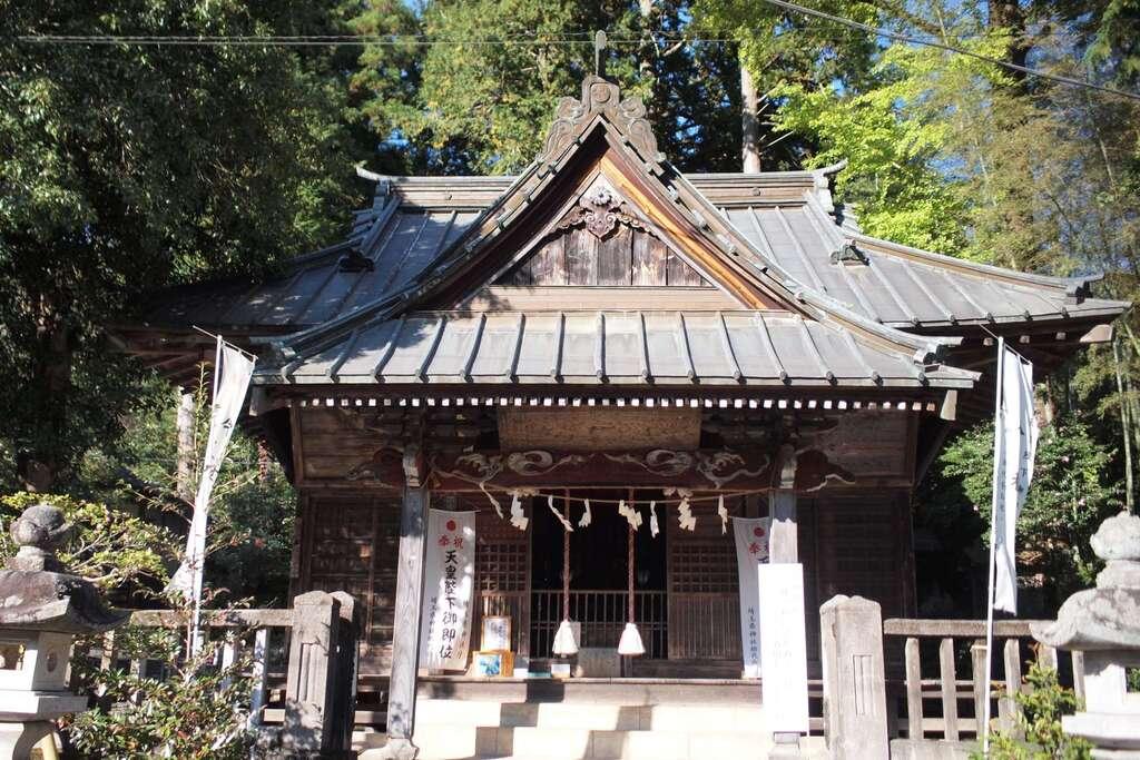 我野神社の本殿