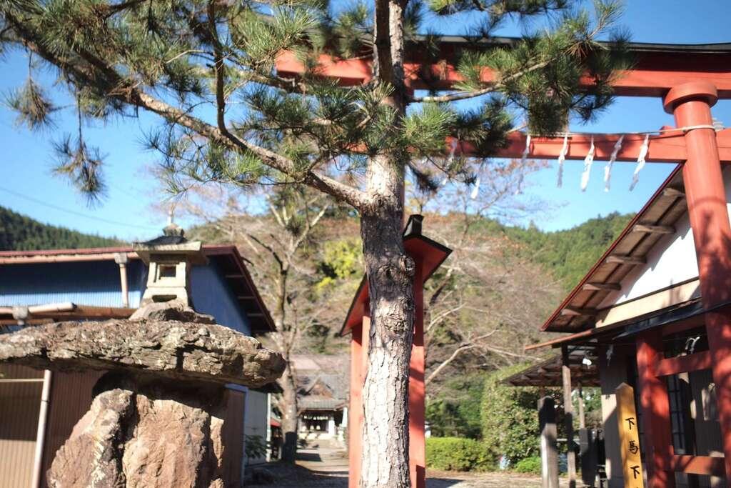 我野神社の鳥居