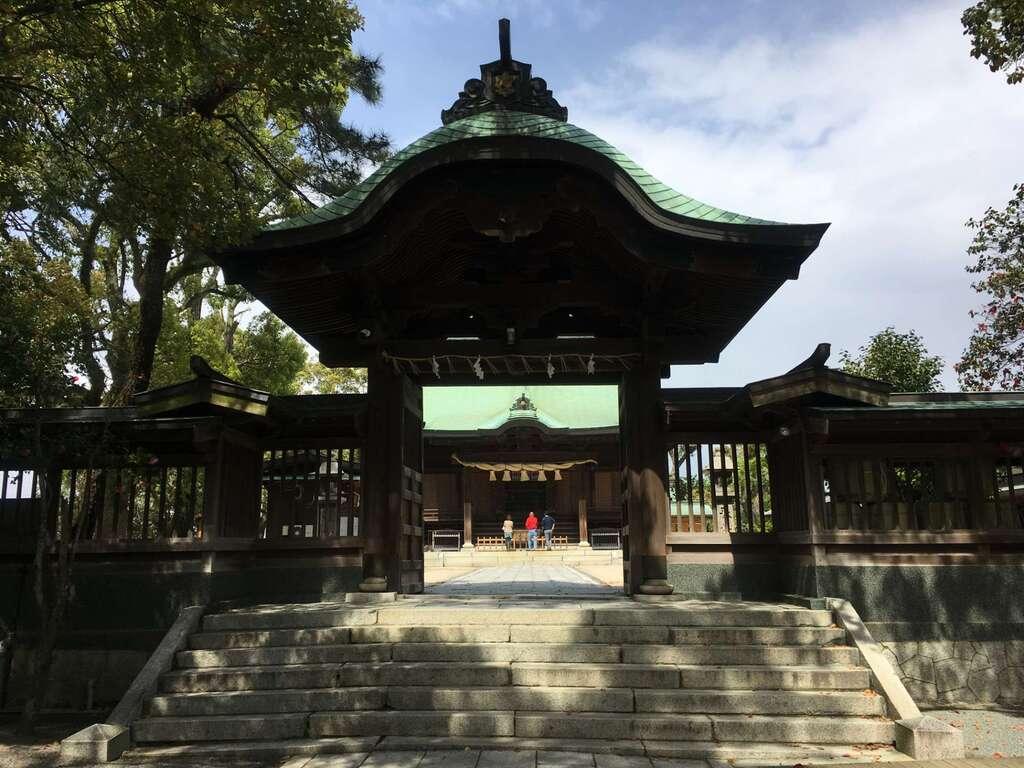 水天宮の山門