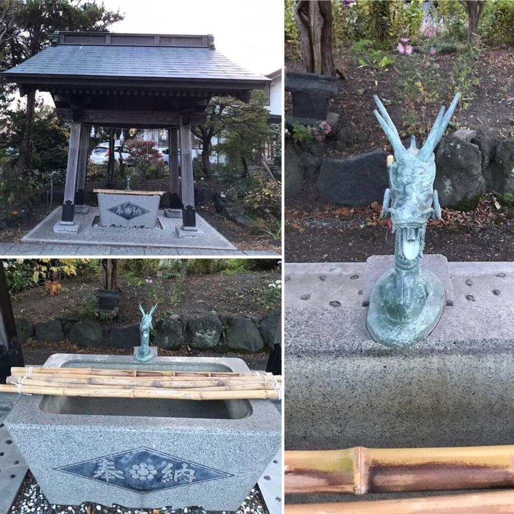 相馬神社の手水